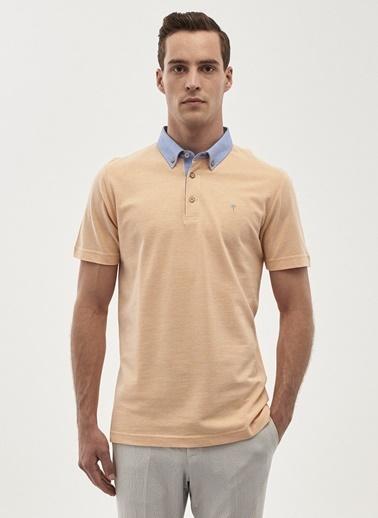 Altınyıldız Classics Polo Yaka Tişört Oranj